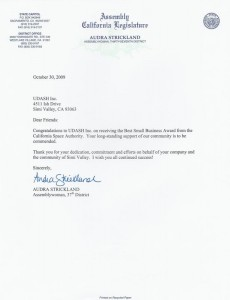 audra-strickland-calif-legislature-letter